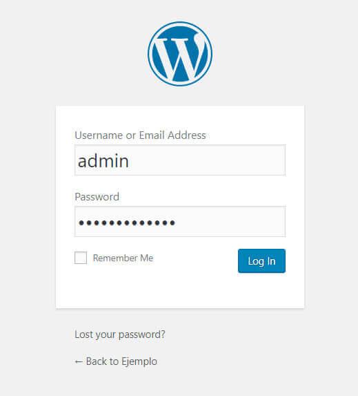 Instalar wordpress con appserv