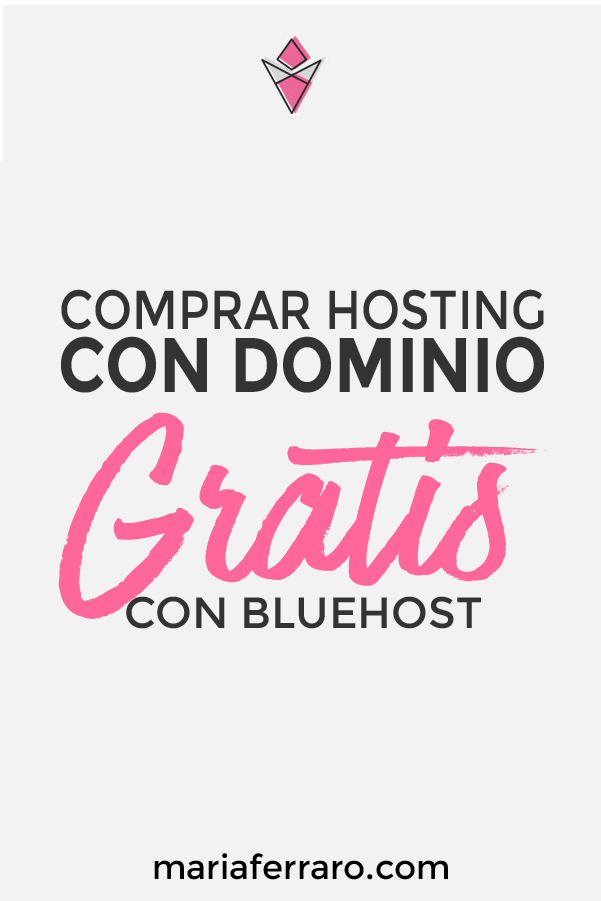 Comprar hosting con dominio gratis en Bluehost