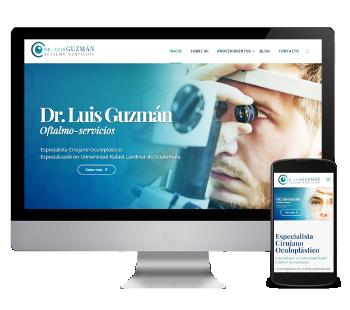 María Ferraro - Dr Luis Guzmán Oftalmoservicios Desarrollo Web