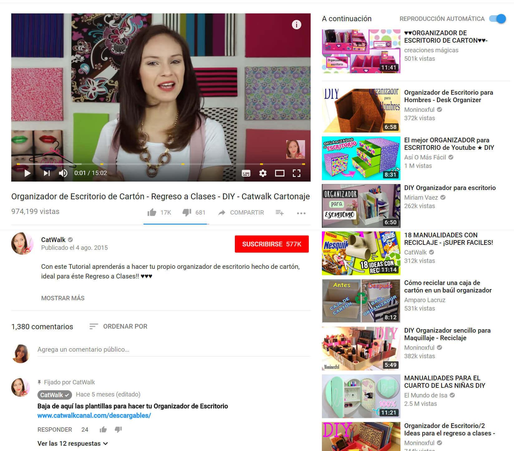 DIY blog YouTube vlog hazlo tú mismo