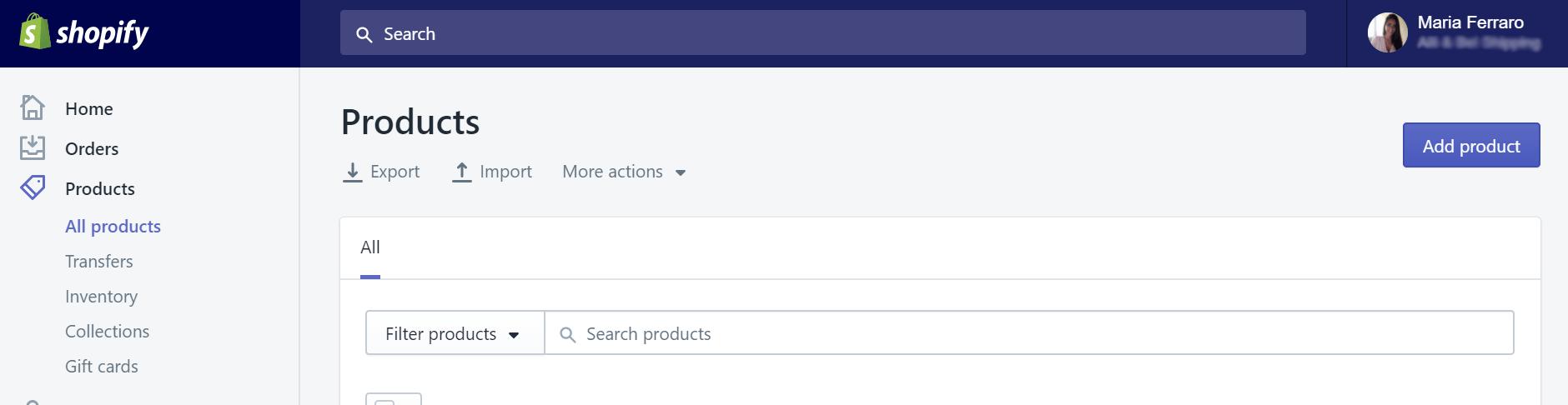 Crear mi propia tienda online o ecommerce en una hora Crear productos