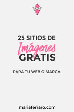 25 Sitios de Imágenes Gratis para tu Web o Marca